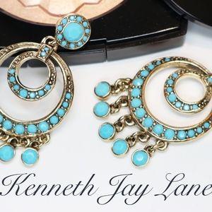 Vintage KENNETH JAY LANE Chandelier Earrings